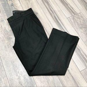 Zara Woman Black Uniform Pants. Mid-Rise. Size 8.